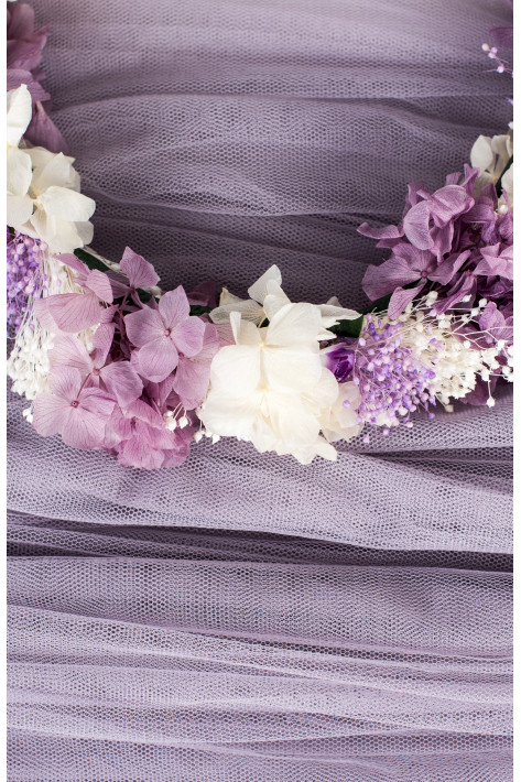 LAVENDER TULLE LACING