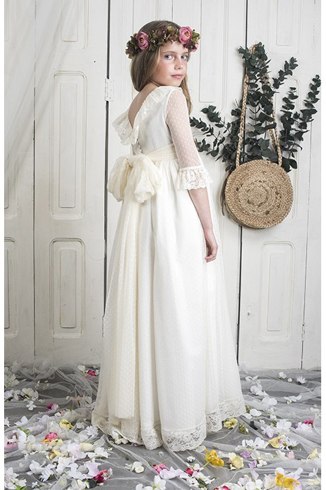 Communion Dress Jimena Ivory