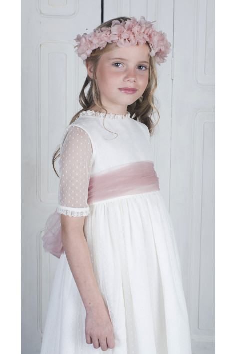 Communion Dress Mencia Ivory