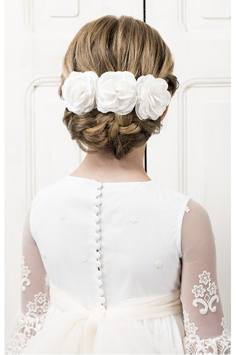 BEATRIZ IVORY HEADDRESS