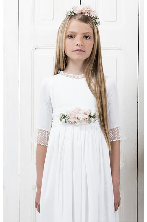 Communion Dress Casilda Ivory