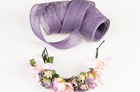 Lavender Raffia