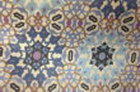 tapiz azul